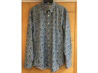 Men's Sauce & Brown limited edition blue floral shirt