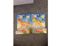 NEW! The lion guard figures X2