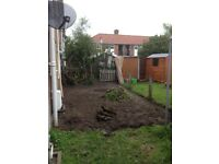 * FULL WASTE TRANSFER LICENSE * SITE / GARDEN CLEARANCE, GROUND LEVELLING, STUMP / HEDGES REMOVED