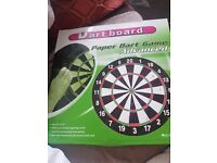 Dart board with 6 pcs darts