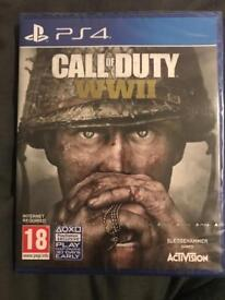 Call of Duty WW2 PS4 - Original Packaging/Sealed/Unopened