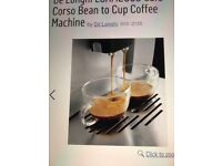 De'Longhi Cafe Corso Bean to Cup Coffee Machine