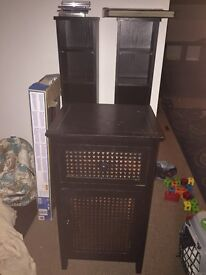Black cd stacks and home sense end unit