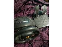 Xbox 360/Pc Thrustmaster Racing wheel