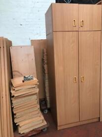 Wardrobe & Top Box Unit-Flat Packed