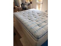 Double bed king size divan type 2 big draws