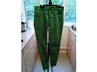 Only. Skinny Green Jeans