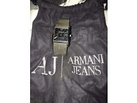 Men's Armani Mesh Strap Watch