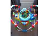 Baby enstein jumper and bouncer