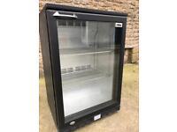 Undercounter bottle display fridge