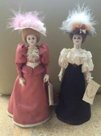 Halcyon Creations Porcelain Dolls
