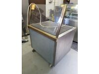90CM ELECTRIC GRIDDLE WITH WHEELS (SINGLE PHASE) *AST167*
