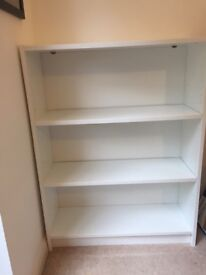 White Bookcase - Like New