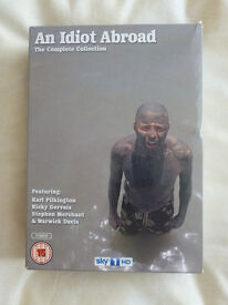 AN IDIOT ABROAD SERIES 1 TO 3 DVD BOX SET