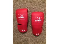 Boxing gloves xs - martial arts sparing