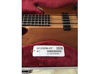 Ibanez Prestige SR1005 EWN 5 String Electric Bass Guitar