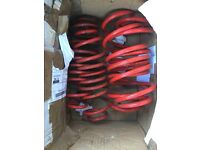 Ford Fiesta ST MK6 lowering springs 40mm not coilovers