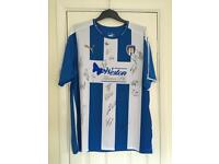 Signed Colchester united shirt