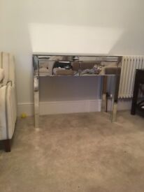 Mirrored console / dressing table