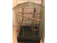 Large cage available for birds.