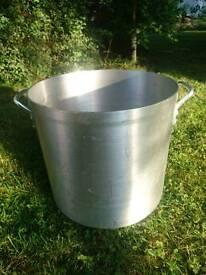 47 Litre Pot - Vogue Stockpot Aluminium - 400 x 380mm