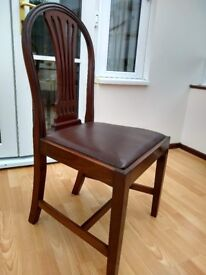 4 Dining Chairs - £40