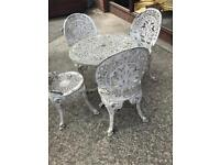 Reduced for quick sale table four chairs