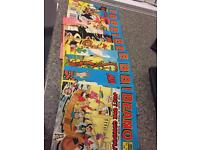 Beano and dandy library comic