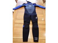 Childs full length Billabong wetsuit