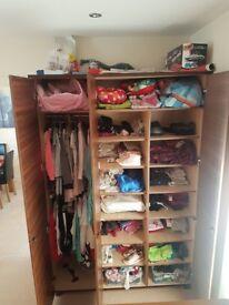 Own made 3 doors wardrobe