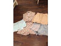 Top shop clothes, size 6
