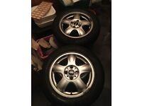 Good wheels good tyres