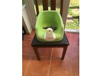 Karibu baby booster high chair seat