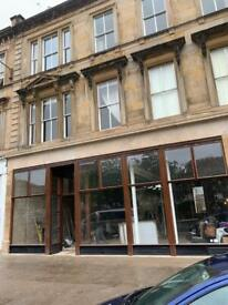 Glasgow West End - Large commercial restaurant unit
