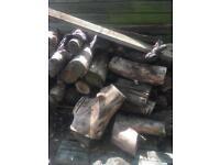 For sale seasoned fire logs Kegworth