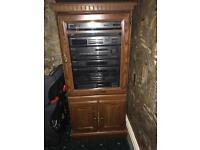 Dark Brown Cabinet