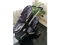 iSafe Tandem Pushchair with Car Seat