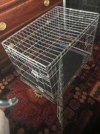 Medium size pet cage 2 door