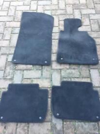 BMW E46 genuine car mat set excellent condition