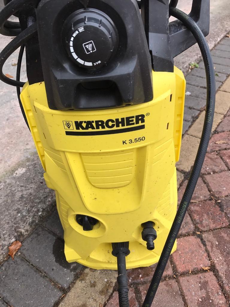 Karcher K3 550 Pressure Washer In Alderley Edge