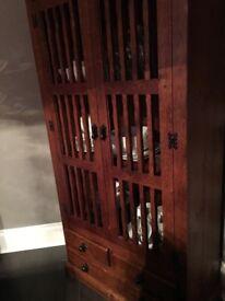 Bespoke solid oak cabinet for sale