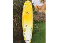 Mission epoxy longboard surfboard