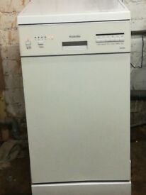 Slim dishwasher