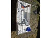 Large Indoor Rabbit Hutch Cage Plastic