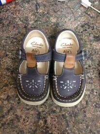 Clarks first shoes size 4.5H