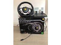 XBox TX Racing wheel - racing simulator