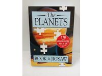 The Planets 170 Piece Jigsaw with 16-Page Book (New)