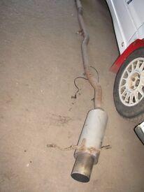 Subaru Impreza 93-01 S/S Cat Back Exhaust System