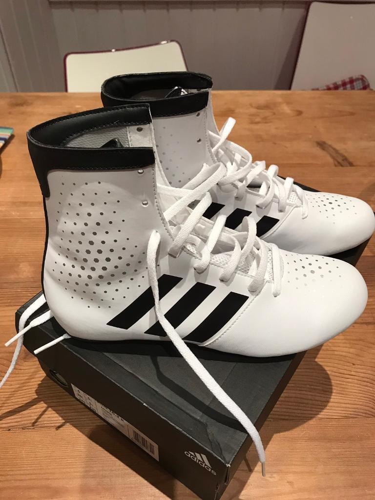 597c10fe3f06eb Adidas KO Legend boxing boots size 5.5. Brand new.
