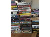 Commodore 64 game cassettes joblot